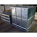 Fully Enclosed Storage Cages
